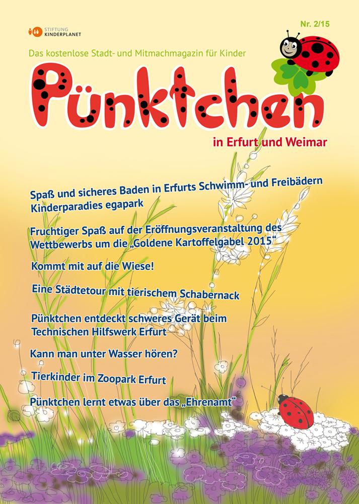 """Das """"Pünktchen"""" – Kindermagazin 2/2015"""