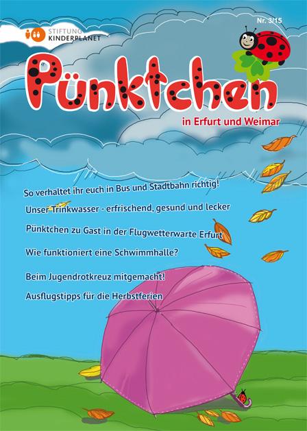 """Das """"Pünktchen"""" Kindermagazin 3/2015 ist da"""
