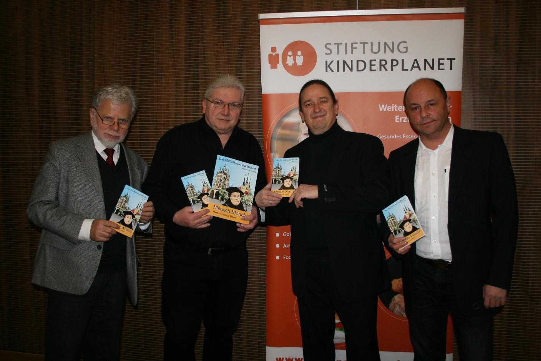 """Präsentation und Vorstellung des Kinderstadtführers """"Mensch Mönch! Martin Luther in Erfurt!"""" am 07.02.2017 im Augustinerkloster"""