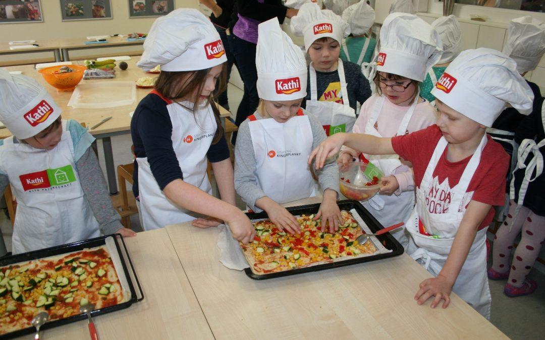 Kochschule in der KITA Fuchs und Elster in Erfurt