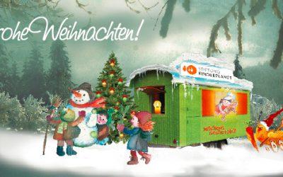 Frohe Weihnachten und einen guten Start ins neue Jahr!