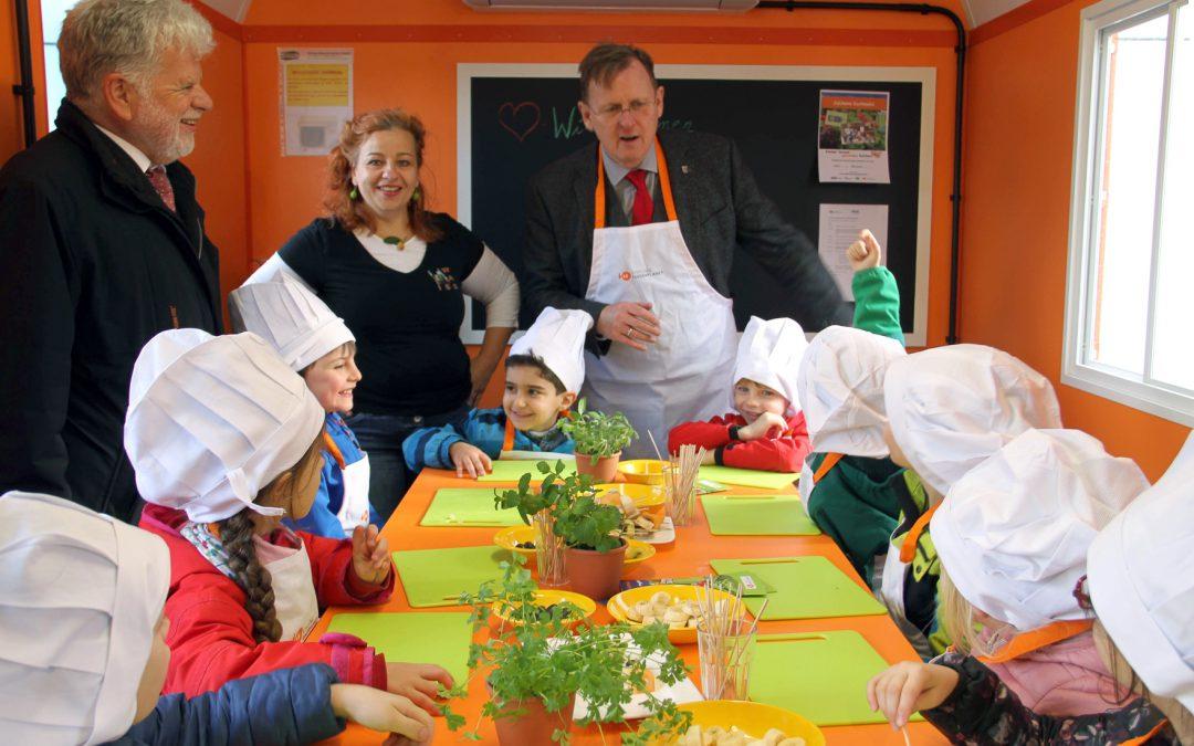 Wir präsentieren Julchens Kochmobil