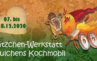 Plätzchen-Werkstatt für Grundschulen in Julchens Kochmobil vom 07.-18.12.2020